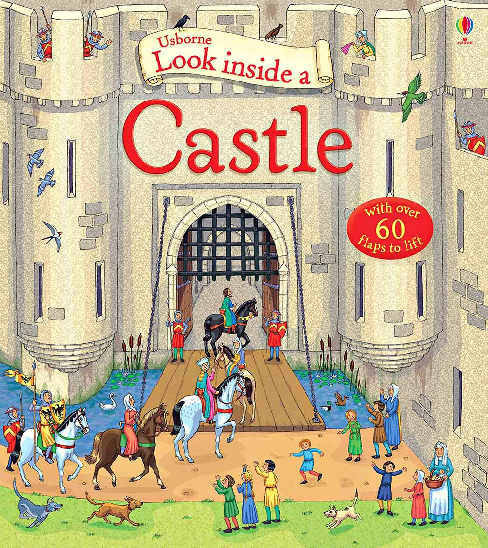 Look inside a Castle cover page