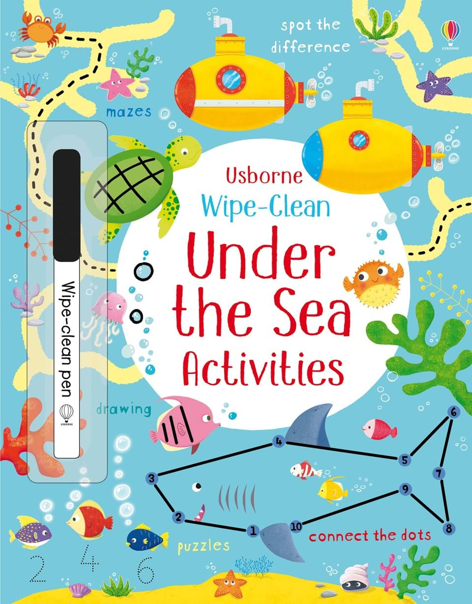 Usborne Under the Sea Activities cover page